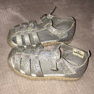 Other - Oshkosh Silver Sparkle Sandals